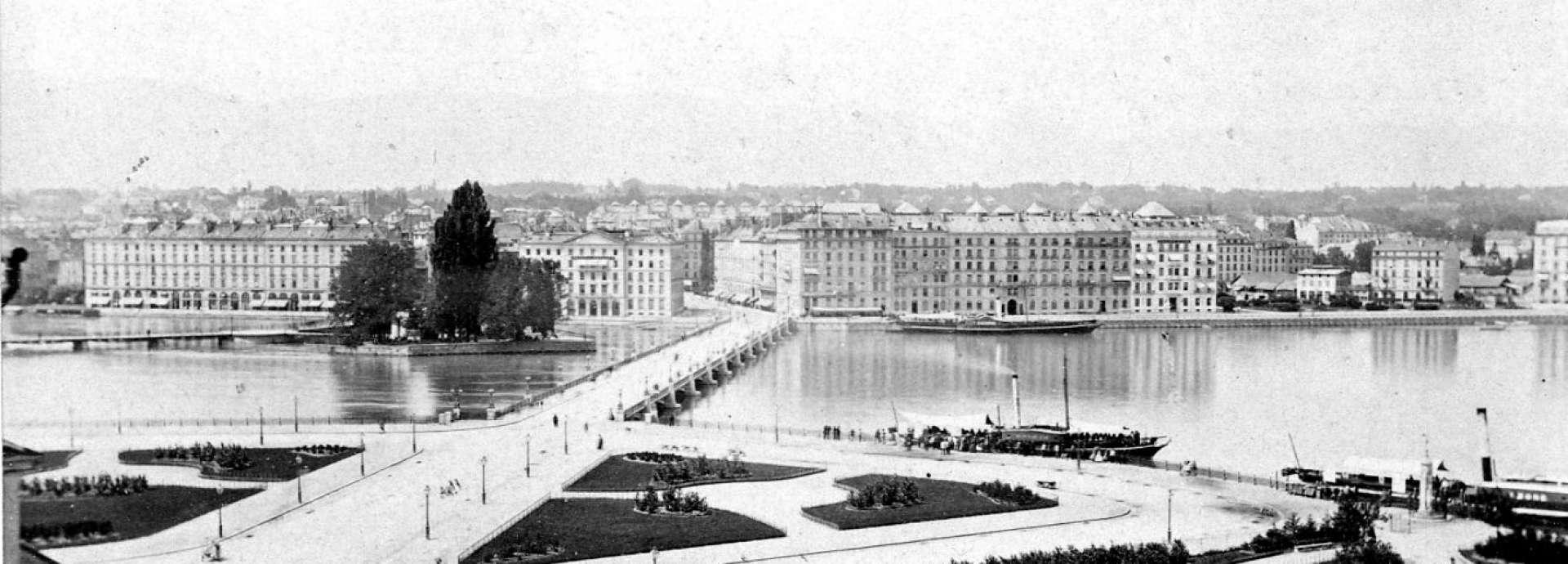 Agence Immobilière Genève - Moser Vernet et Cie SA pont du mont-blanc