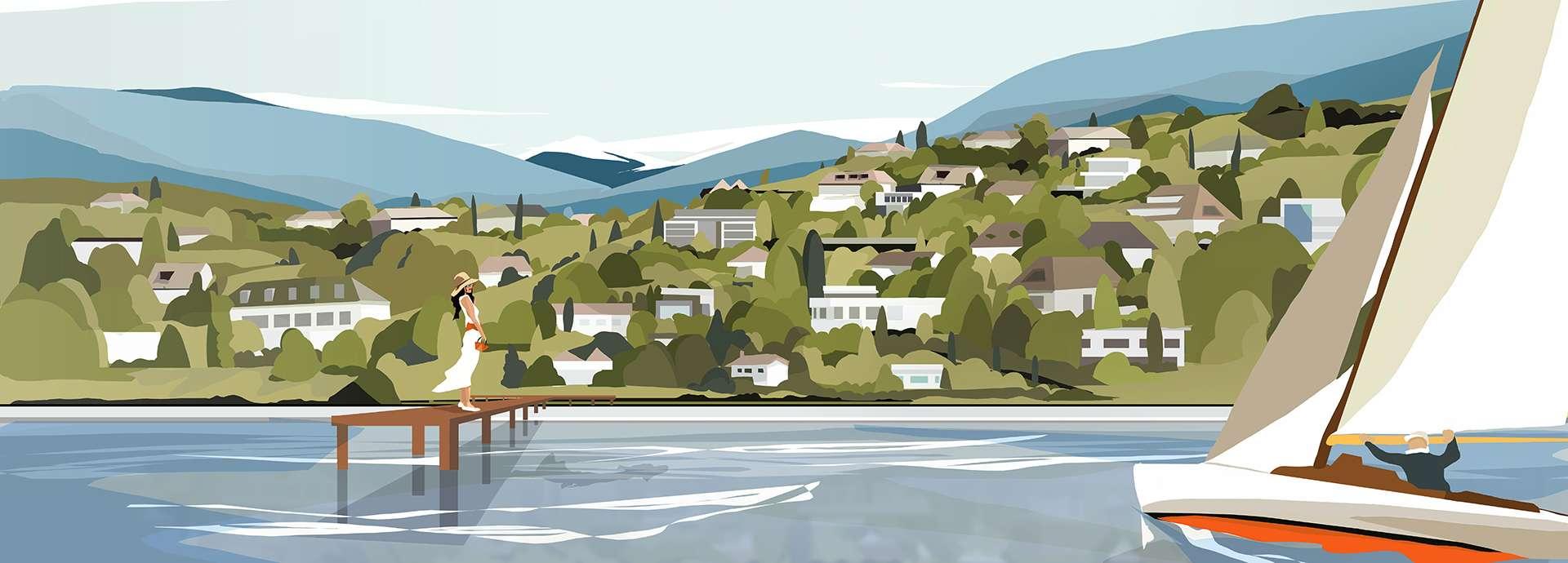 illustration 2018 Genève - Moser Vernet et Cie