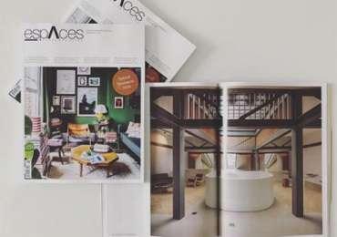 Magazine espaces contemporains - Moser Vernet et Cie SA