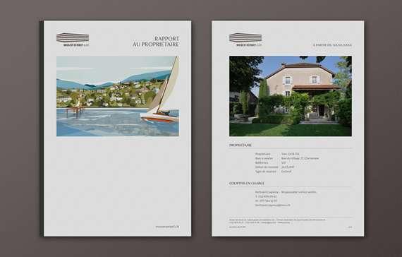 Agence Immobilière Genève - Moser Vernet et Cie SA nouvelle identité de marque